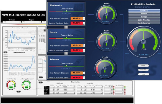 Custom dashboard solution utilizing SAP BusinessObjects Xcelsius and Dashboard Builder