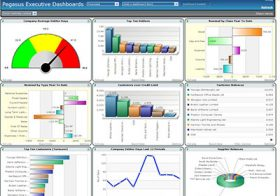 Executive Dashboard for Business Intelligence